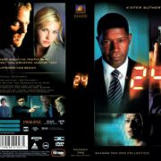 24 season 1-2-3-4 front covers