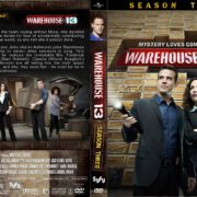 Warehouse 13 all seasons front dvd covers