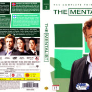 The Mentalist: Season 1-2-3 front dvd covers