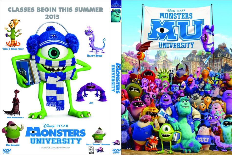 Monsters University (2013) R0 Custom - Cartoon DVD - CD ...