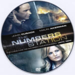 The Numbers Station (2013) R0 Custom DVD Label