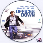 Officer Down (2013) R0 Custom DVD Label