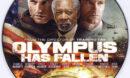 Olympus Has Fallen (2013) R0 Custom DVD Label