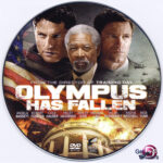 Olympus Has Fallen (2013) R0 Custom DVD Label