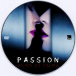 Passion (2012) Custom DVD Label