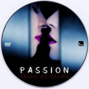 passion 2012 dvd label