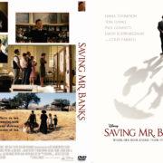 Saving Mr. Banks (2013) Custom DVD Cover