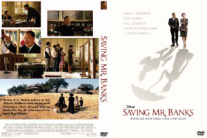 saving mr banks 2013 dvd cover