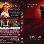 Saving Mr. Banks (2013) R1 Custom DVD Cover