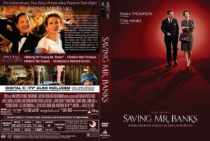 saving mr banks dvd cover
