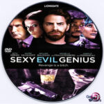 Sexy Evil Genius (2013) R0 Custom DVD Label