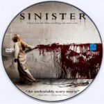Sinister (2012) R0 Custom DVD Label