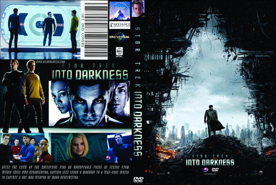 Star Trek Into Darkness 2013 R0 Custom Movie Dvd Cd Label Dvd Cover Front Cover