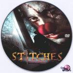 Stitches (2012) R0 Custom DVD label