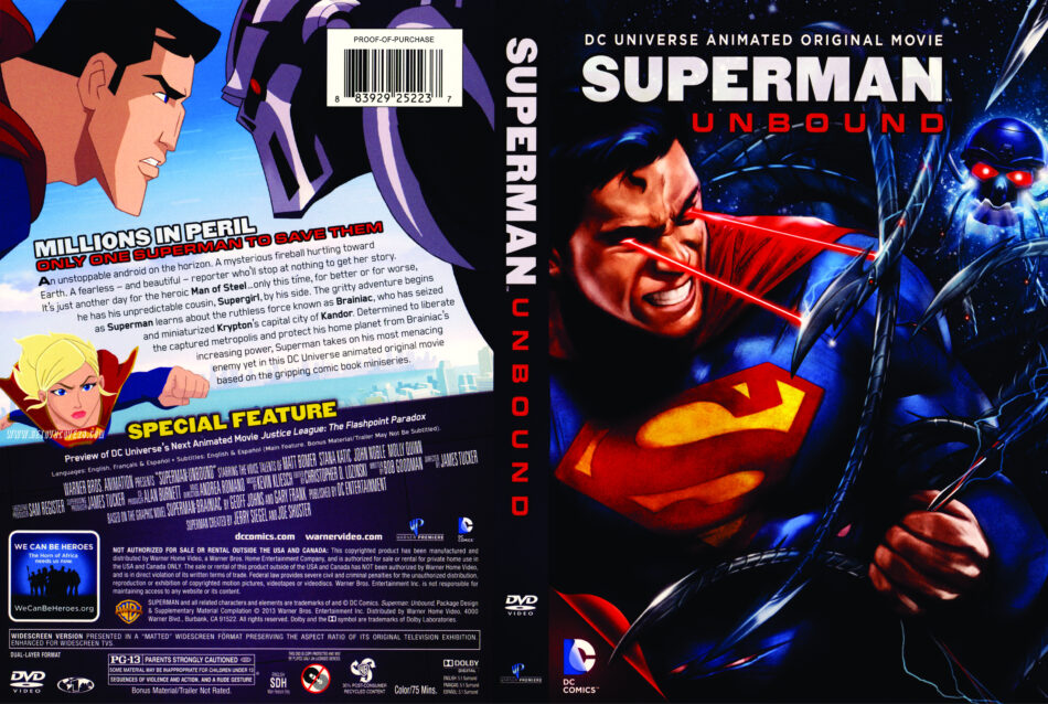 Superman Unbound Deutsch