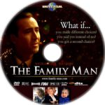 The Family Man (2000) R1 Custom DVD Label