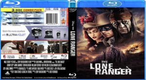 the lone ranger (2013) R1 (Blu-Ray Movie  )