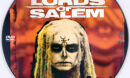 The Lords of Salem (2012) R0 Custom DVD Label