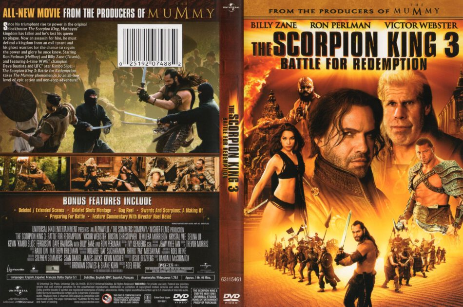 the scorpion king 3 battle for redemption 2012 full movie