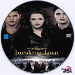 The Twilight Saga: Breaking Dawn Part 2 (2012) R0 Custom DVD Label