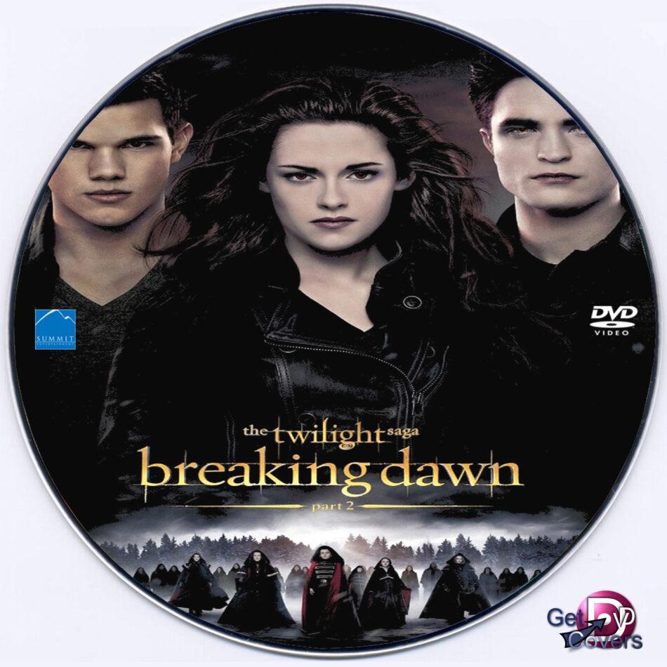 The Twilight Saga Breaking Dawn Part 2 2012 R0 Custom Dvd Label