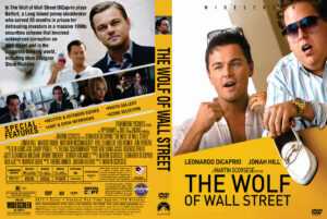 the wolf of wall street dvd cover