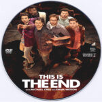 This Is The End (2013) Custom DVD Label