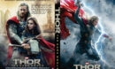 Thor: The Dark World (2013) R0 Custom DVD Cover