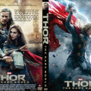 Thor: The Dark World (2013) R0 Custom DVD Cover
