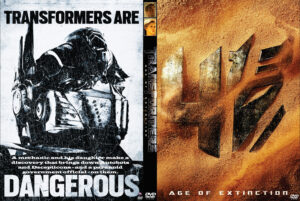 Transformers Age of Extinction dvd cover