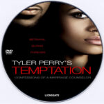Tyler Perry's Temptation: Confessions of a Marriage Counselor (2013) R0 Custom DVD Label