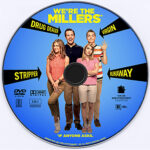 We're The Millers (2013) Custom DVD Label