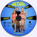 We're The Millers (2013) Custom DVD Label