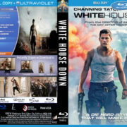 White House Down (2013) R1 Custom Blu-Ray DVD Cover