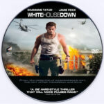 White House Down (2013) Custom DVD Label
