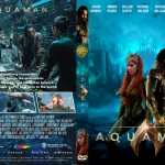 Aquaman (2018) R1 CUSTOM DVD Cover & Label