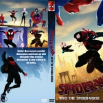 Spider-Man: Into the Spider-Verse (2018) R0 Custom DVD Cover