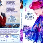 Mary Poppins Returns (2018) R1 Custom DVD Cover