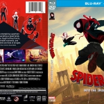 Spiderman: Into The Spider-Verse (2019) R1 CUSTOM Blu-Ray Cover