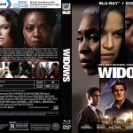 Widows (2018) R1 CUSTOM Blu-Ray Cover & Label