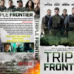 Triple Frontier (2019) R1 Custom DVD Cover
