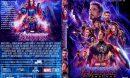 Avengers: Endgame (2019) R0 Custom DVD Cover