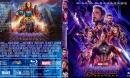 Avengers Endgame (2019) R0 Custom Blu-Ray Cover