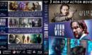 John Wick Triple Feature R1 Custom Blu-Ray Cover