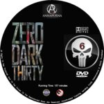 Zero Dark Thirty (2012) R0 Custom Blu-Ray/DVD Labels